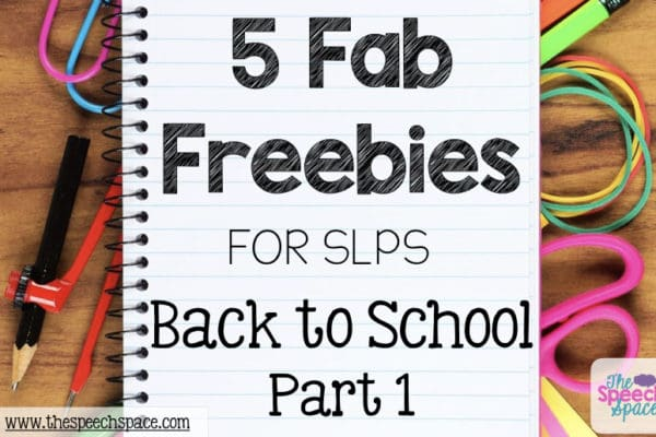 free back to school activities