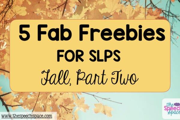more Fall freebies