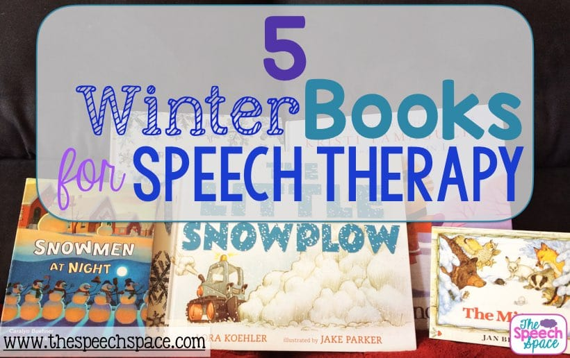 winter books for speech therapy