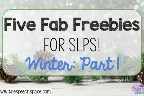 Five Fab Freebies: Winter Resources, Part 1