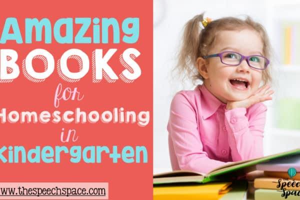 Great books for Homeschooling in Kindergarten!