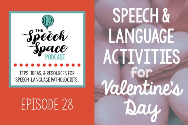Language Activities for Valentine's Day