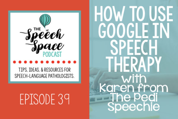 Google in speech therapy