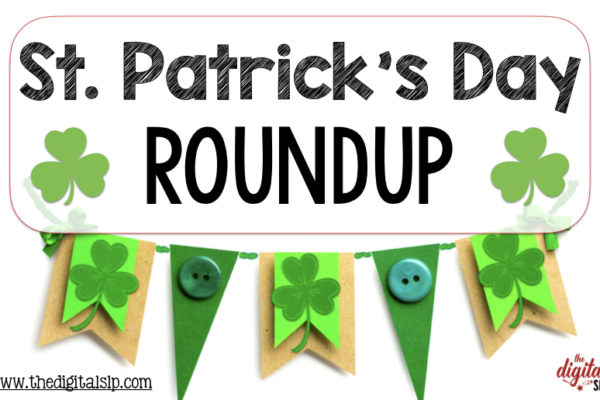 St. Patrick's Day Clover Banner Sign