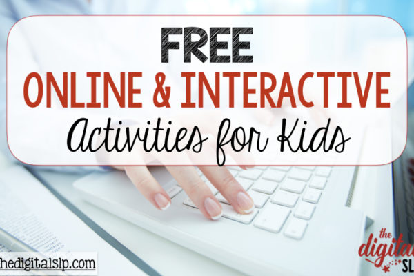 Free Online Interactive Activities for Kids
