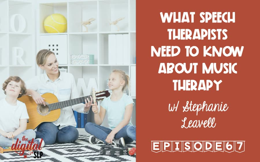 What Speech Therapists Need to Know About Music Therapy