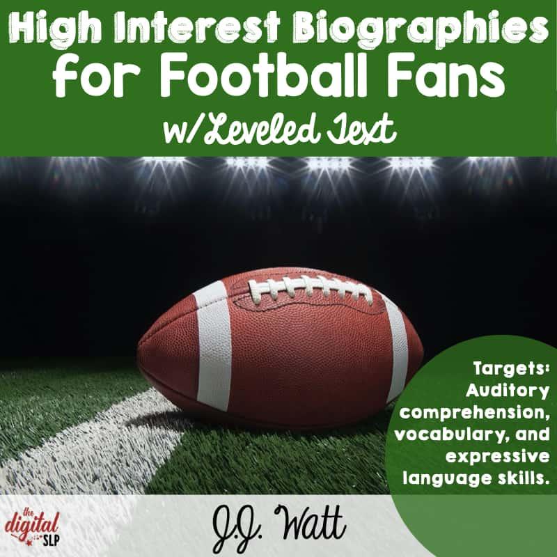 No Print Football Bios J.J. Watt thedigitalslp.com