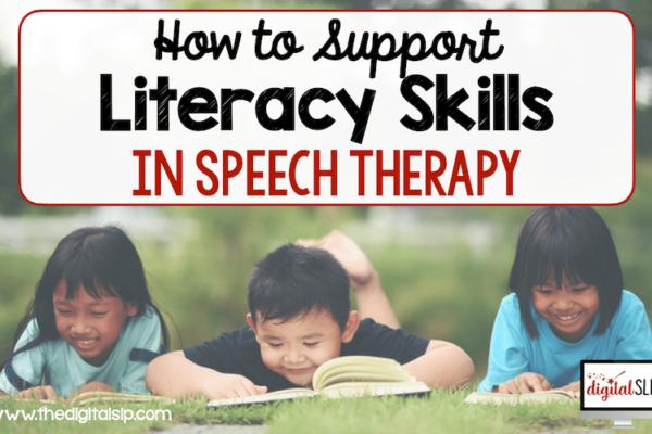 literacy skills in speech therapy
