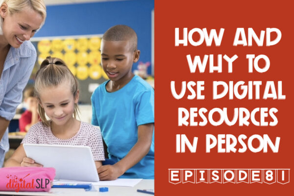 use digital resources in person